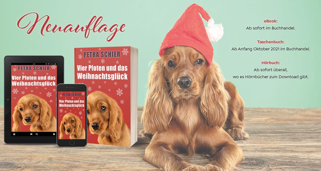 Aus alt mach neu: Zwei meiner beliebten Weihnachtsromane jetzt als Taschenbücher und eBooks erhältlich!