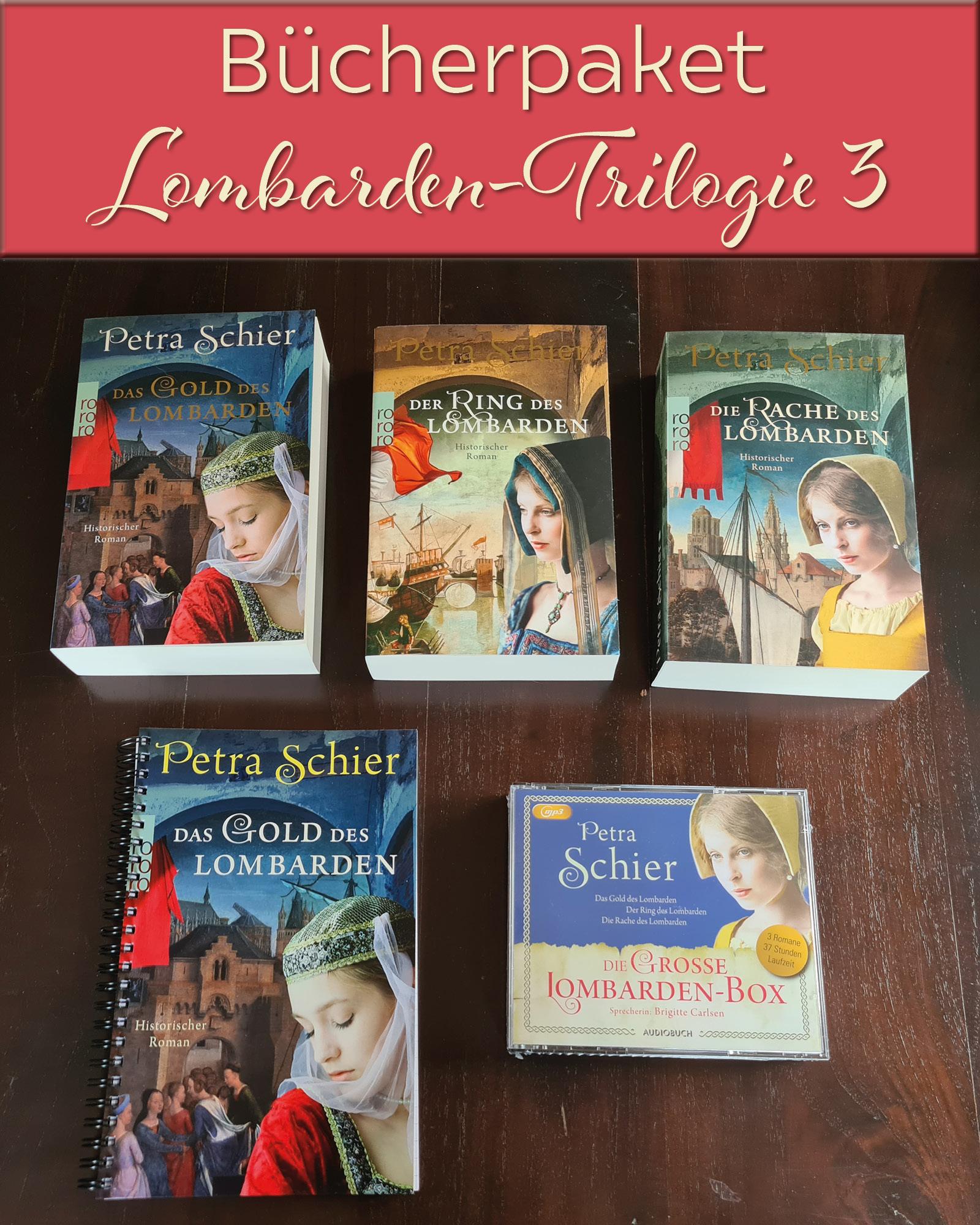 Neue Versteigerungen: Lombarden-Trilogie, Pentalogie Der Fantast und zwei Krimis mit Super-Goodies