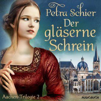Cover Der gläserne Schrein (Hörbuch)